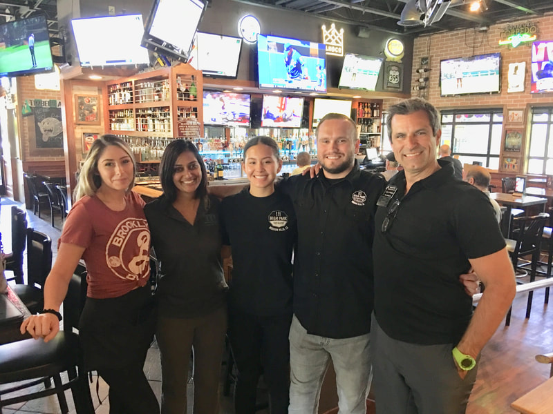 High Park Tap House Staff and Chamber members